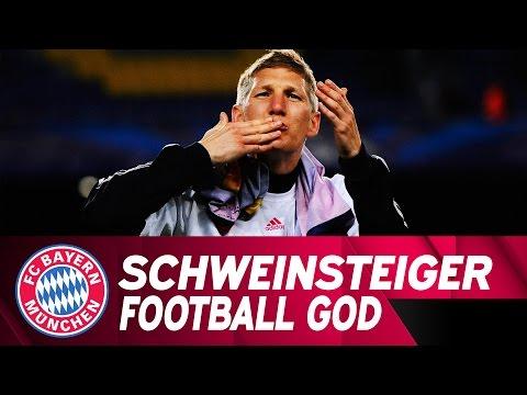 Bastian Schweinsteiger – Football God | FC Bayern.tv live