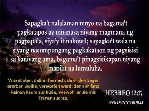 Hebreo 6 ang dating biblia free