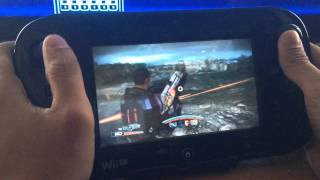 Mass Effect 3 Special Edition on Wii U Gamepad Gameplay