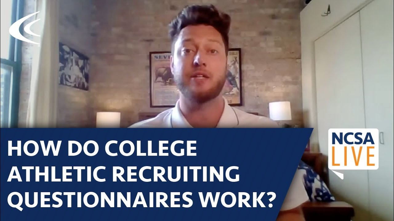 How Do College Athletic Recruiting Questionnaires Work?
