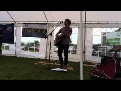 James Nightingale at the Poppleton Beer Festival