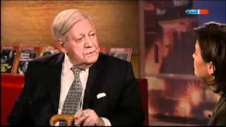Altkanzler Schmidt über Einwanderung und Integration