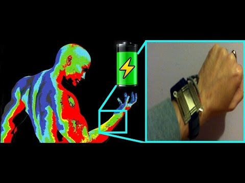 body heat to electricity thermoelectric energy harvesting watch rh youtube com