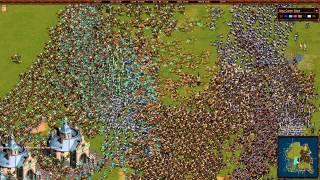 cossacks back to war gameplay [KGR]CatweaZeL vs [ARM] Armenia