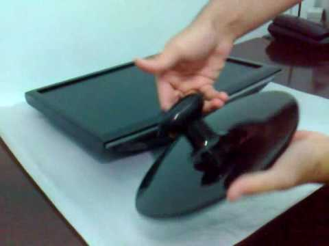 Assembly of base samsung 933bw 19 lcd wide youtube - Soporte tv samsung ...