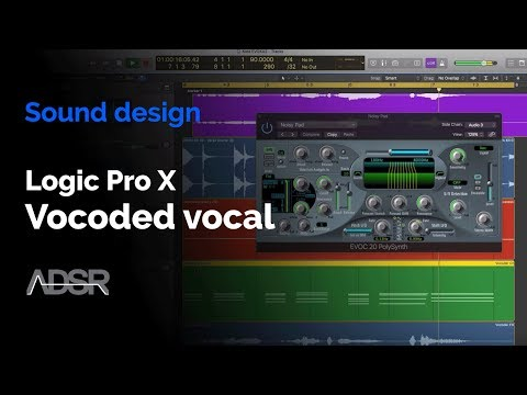 Logic Pro X - Vocoder Tutorial