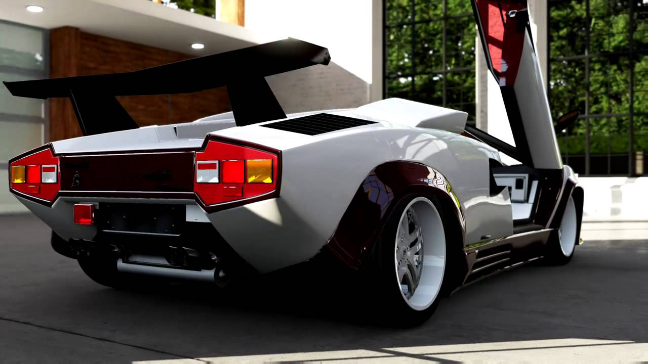 Forza Motorsport 5 Lamborghini Countach Lp 5000 Qv Youtube