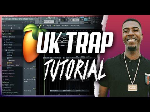 UK Trap Tutorial – How To Make UK Trap Type Beats 2021 [FAST]