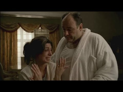 Tony And Meadow Talk About Finn - The Sopranos HD