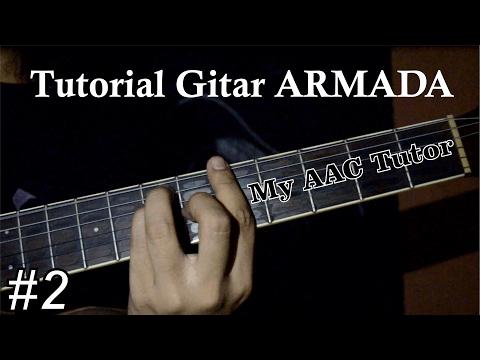 Tutorial lengkap chord gitar Armada - Asal Kau Bahagia
