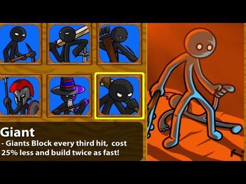Stick War Legacy | Stickman HACK Unlimited Gems Insane Mode Tournament Giant Avatar Unlocked