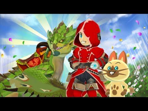 Monster Hunter Stories Gameplay E5 - Rathian & Shrouded Nerscylla! Android/IOS thumbnail
