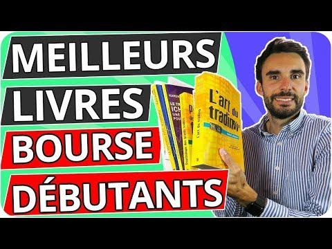 Les 7 MEILLEURS LIVRES pour DÉBUTER en BOURSE