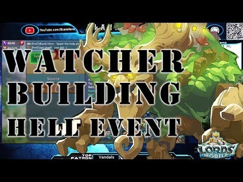 Watcher Event  Lords Mobile 