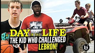 """The 14 Year Old Who CHALLENGED LeBron!"" Gabe Cupps Is NOT Your Average HOOPER!! Day In The Life"