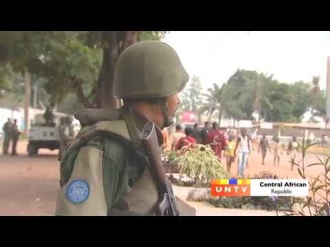 Moroccan Peacekeepers- Central African Republic