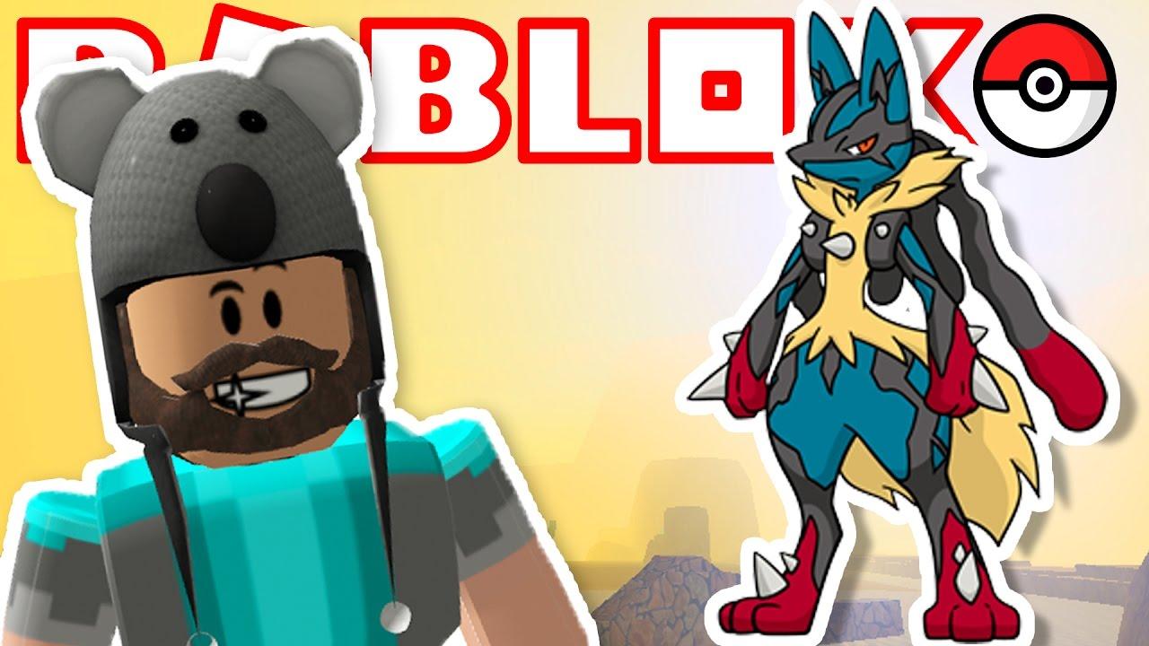 Mega Lucario Pokemon Brick Bronze 34 Roblox Youtube