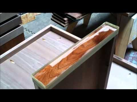 How to bar top epoxy live edge bubinga FunnyCat.TV