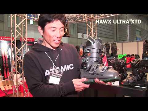 1920 ATOMICスキーを解説 | HAWX ULTRA XTD BOOTS | JAPAN SNOW EXPO 2019