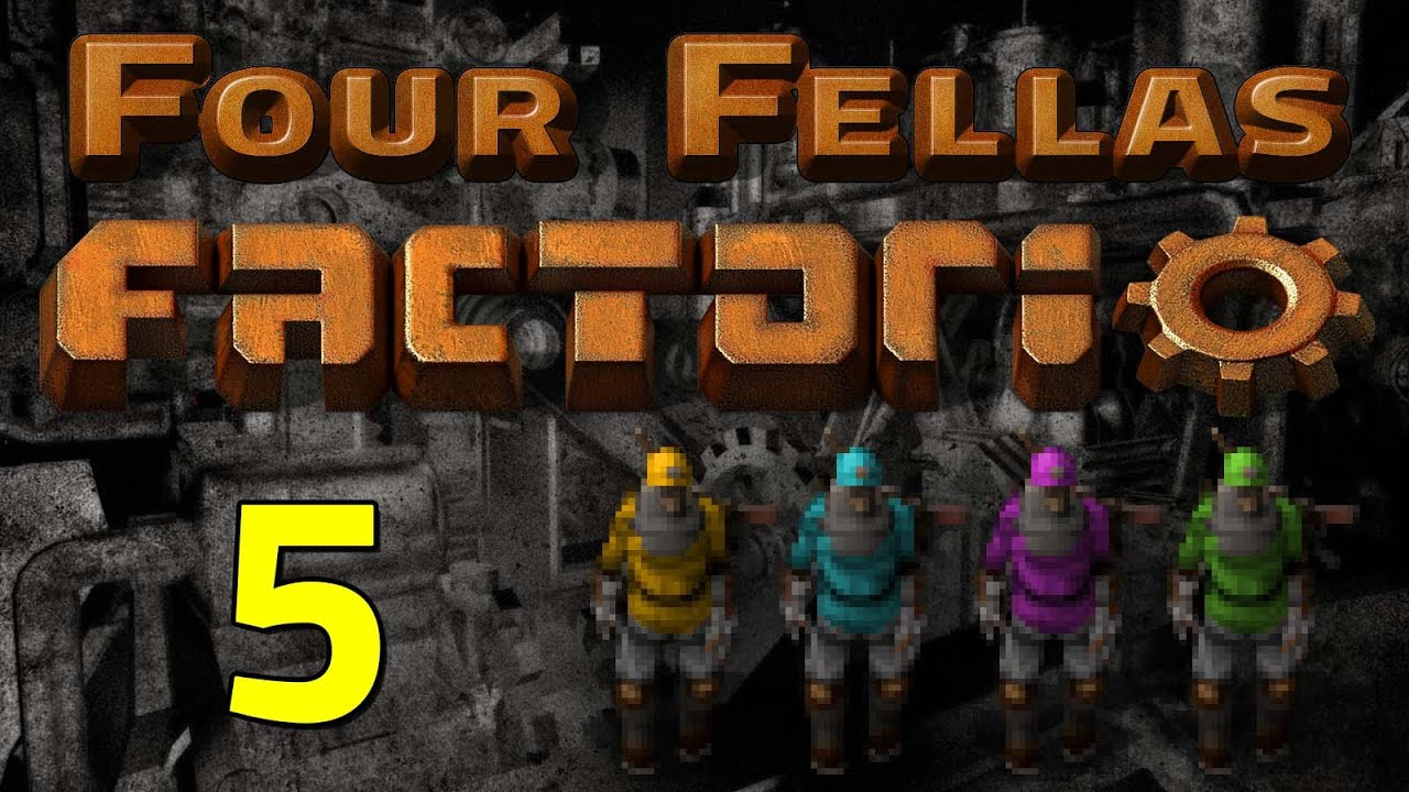 Factorio Manufacturing Trees - Year of Clean Water
