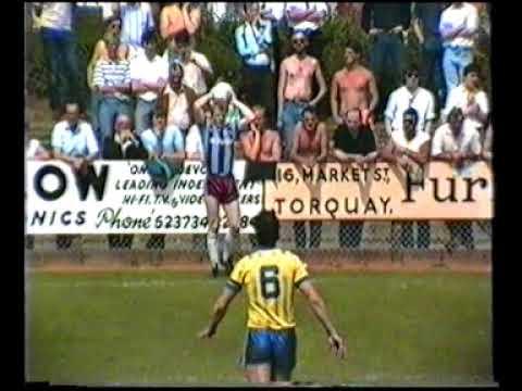 torquay united v scunthorpe united 15th may 1988