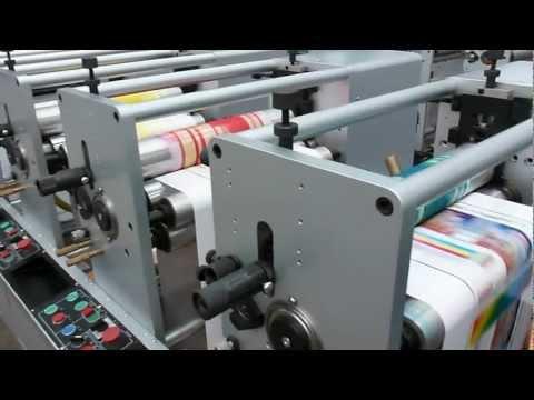 Machine Pour L'impression D'étiquettes Flexographique Machine D'impression En Bobine