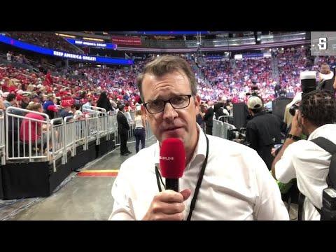 """Wahlkampfauftakt in Florida: """"Trump muss sich anstrengen"""""""