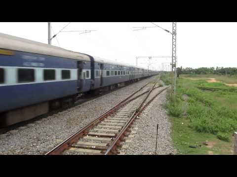 12508 GUWAHATI-ERNAKULAM JUNCTION EXPRESS With ET WAM-4!