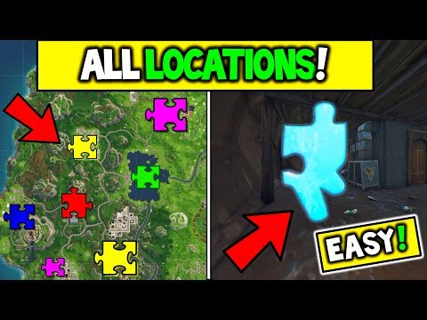 ALL JIGSAW PUZZLE PIECES LOCATIONS! Fortnite