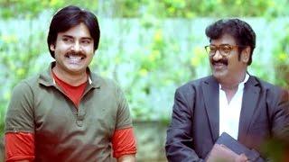 Attarintiki Daredi Comedy Scenes - Gautam Entry In Sunanda House - Pawan Kalyan