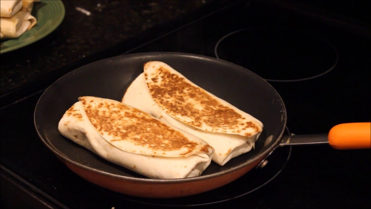 Easy Burrito Recipe - Fast and Easy Burritos