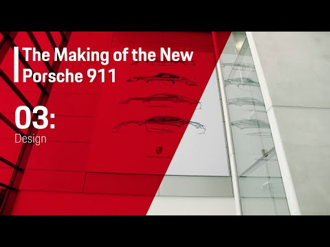 The Making of the New Porsche 911 (E03) - Design