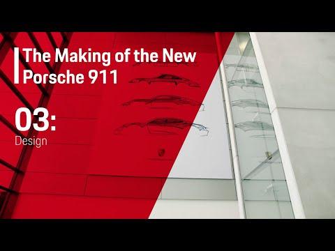 The Making of the New Porsche 911 (E03) - Design