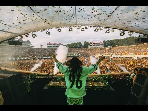 DJ Steve Aoki Live At Tomorrowland Belgium 2016
