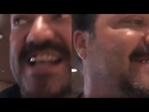 Bam Margera Gets Kicked Off A Plane