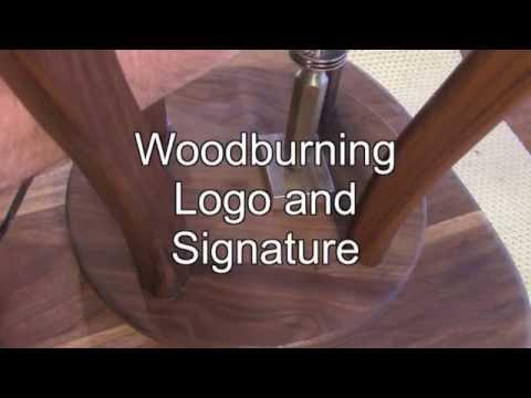 Burn Stamp BearKat Wood