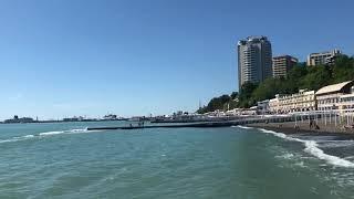 10.05.2019 Погода в Сочи в мае. Смотри на Чёрное море каждый день.