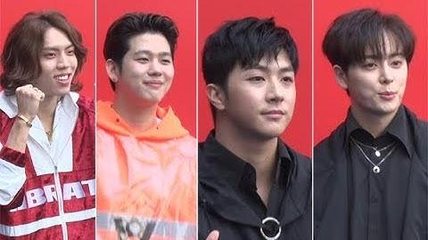 [영상] 동우(인피니트)·론(빅플로)·천둥(엠블랙)·동현(보이프렌드), '누가 더 멋있나?' (헤라서울패션위크)