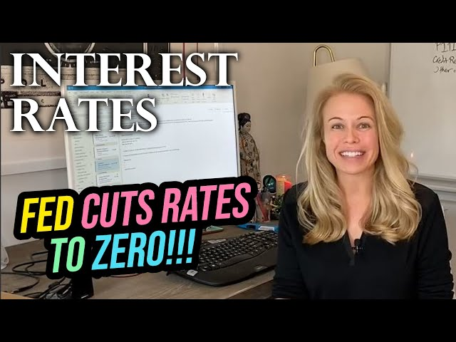 Fed Cuts Mortgage Interest Rates - Mortgage Rates Today! The Economy Takes a Hit From Coronavirus!