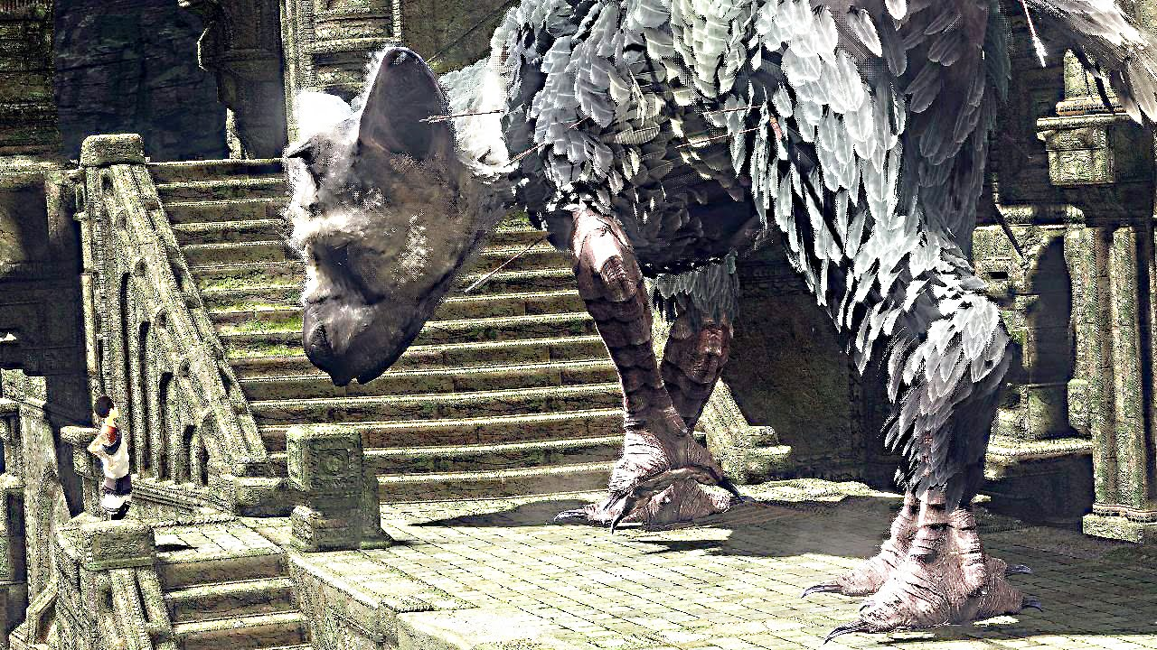 The Last Guardian Ps4 Gameplay Youtube