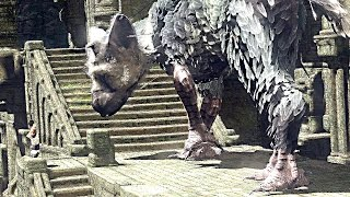 The Last Guardian PS4 Gameplay