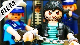 Playmobil Polizei Film deutsch - HANS HÄFTLING kommt ins BUNDESGEFÄNGNIS - Playmobil SEK