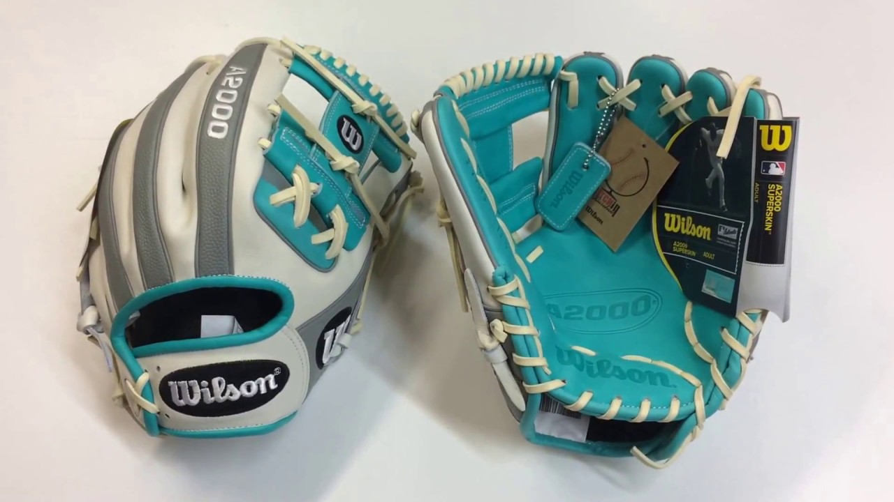 Wilson A2000 Custom February 2018 1786 SuperSkin Glove Of The Month Limited  GOTM