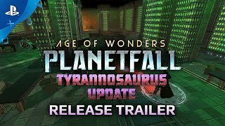 Age of Wonders: Planetfall - Tyrannosaurus Update | PS4