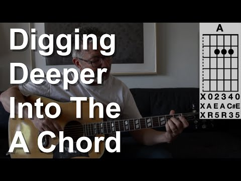 Digging Deeper into the A Chord | Tom Strahle | Simple Guitar | Basic Guitar