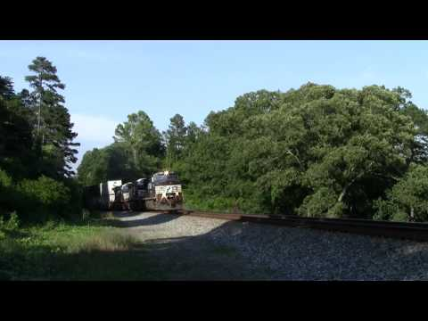 NS Piedmont Division 6/4/12: Extra Trains, Locals, and Slack Action