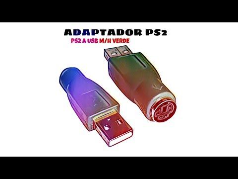 Video de Adaptador PS2 a USB M/H  Verde