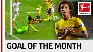 Axel Witsel - August 2018's Goal of the Month Winner