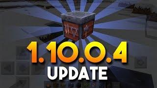 New MCPE Update: 1.10.0.4 // Anything new?!!