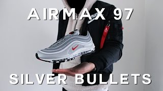 AIRMAX 97 SILVER BULLET REVIEW | ON FEET